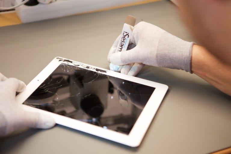 iPad érintő üveg csere